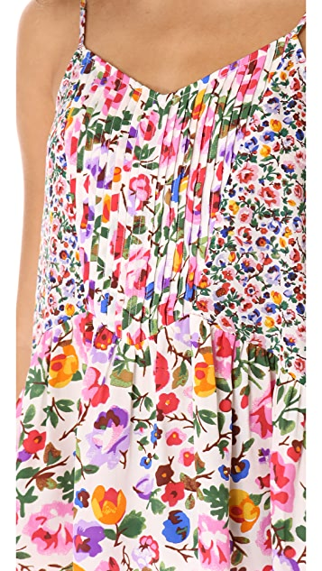 Madewell Floral Pintuck Camisole