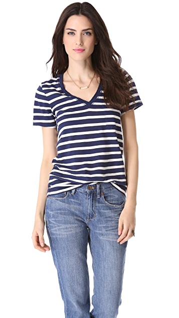 Madewell Striped Slub Pocket Tee