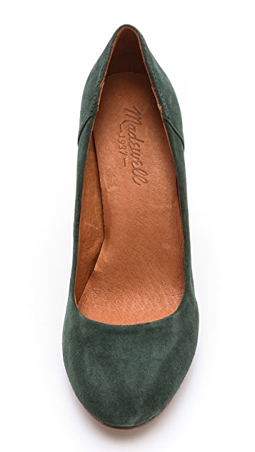 Madewell Frankie Suede Pumps
