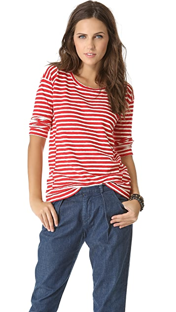 Madewell Pencil Stripe Pullover