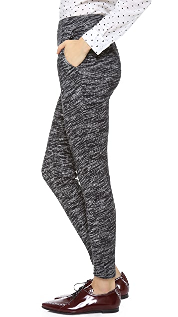 Madewell Marled Slouch Sweatpants