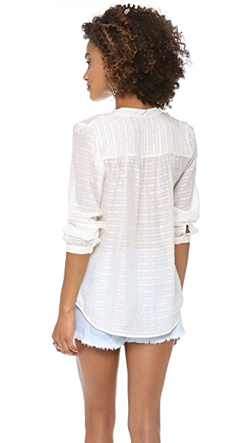 Madewell Smocked Pullover
