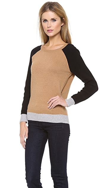 Madewell Dorian Colorblock Pullover