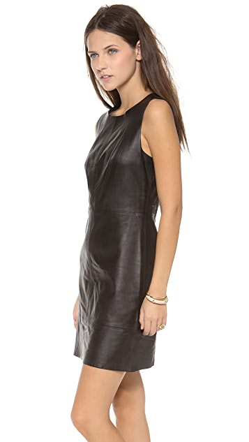 Madewell Leather Dress