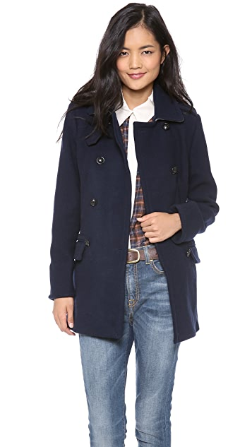 Madewell Wool Pea Coat