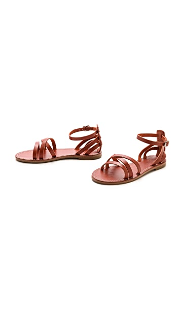 Madewell The Rowell Sandals
