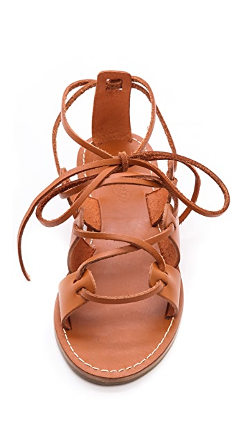 Madewell Kahlahari Laced Gladiator Sandals