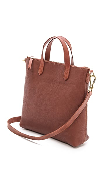 Madewell Mini Cross Body Transport Tote