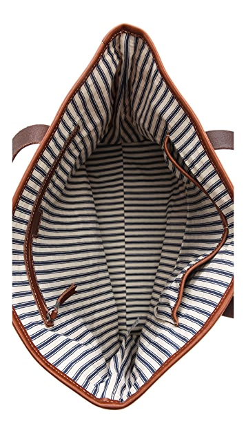Madewell Striped Transport Tote