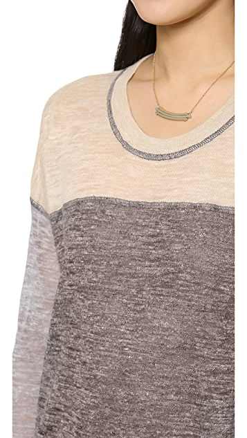Madewell Outfield Pullover in Colorblock