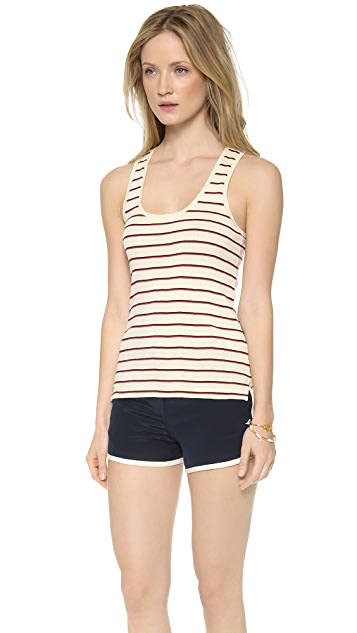 Madewell Ribbed Tank in League Stripe