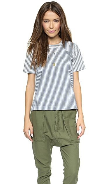 Madewell Refined Tee in Stripework