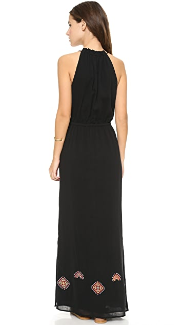 Madewell Embroidered Maxi Dress