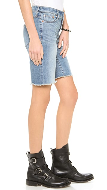 Madewell High Waisted Bermuda Shorts