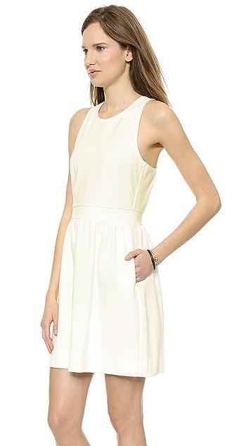 Madewell Pierside Zip Back Dress