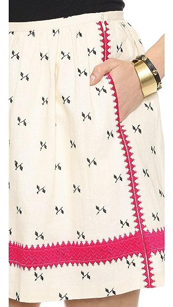 Madewell Lightstitch Skirt