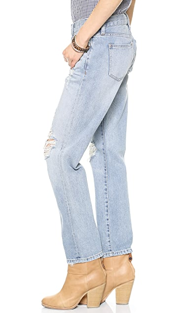 Madewell Destroyed Boy Jeans