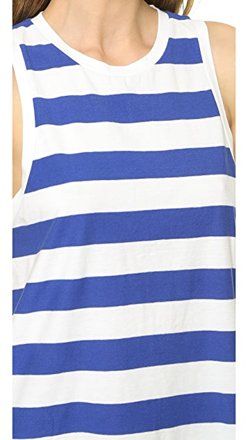 Madewell A Line Tank in Stripe
