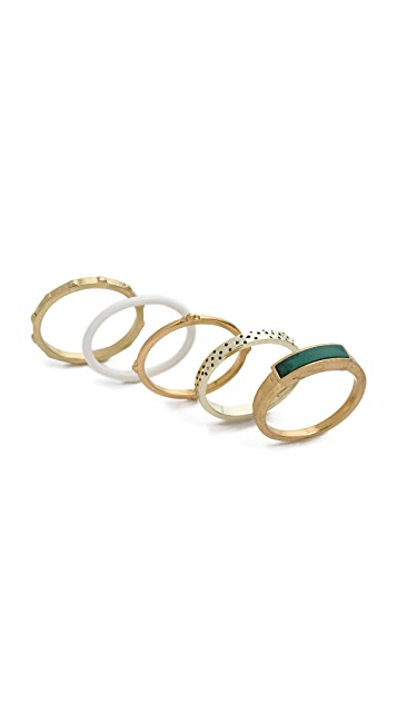 Madewell Ring Set