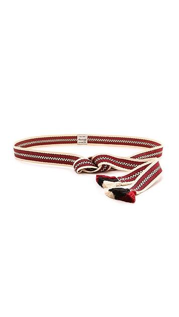 Madewell Woven End Tassel Belt