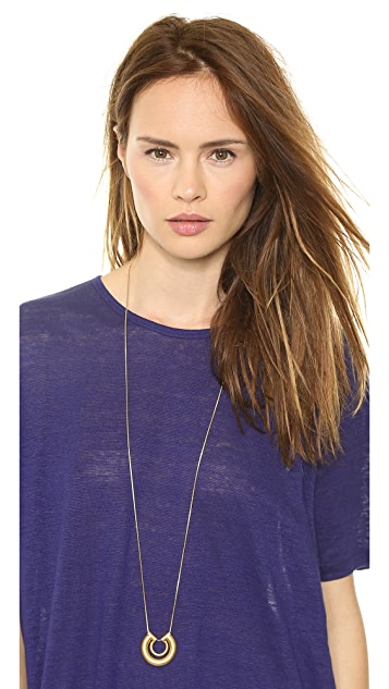 Madewell Coliseum Pendant Necklace