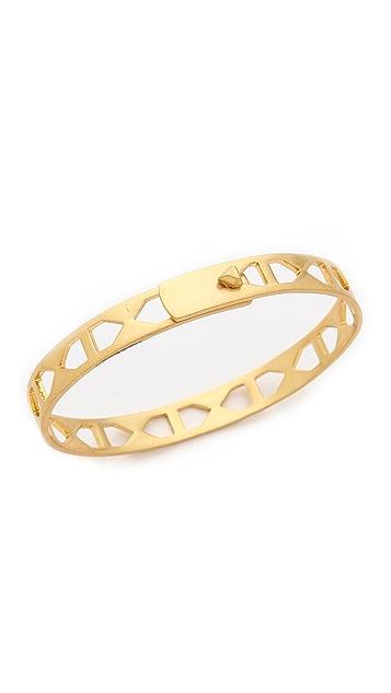 Madewell Gridcraft Bangle Bracelet