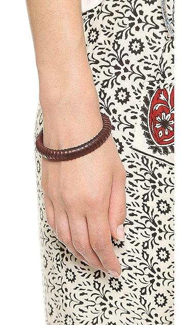 Madewell Leather Wrap Bangle
