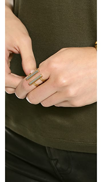Madewell Double Time Ring