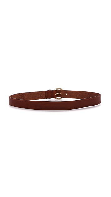 Madewell Medium Perfect Leather Belt