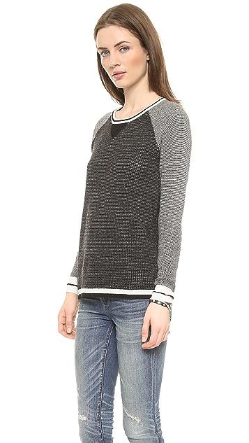 Madewell Jamie Stitch Blocker Pullover