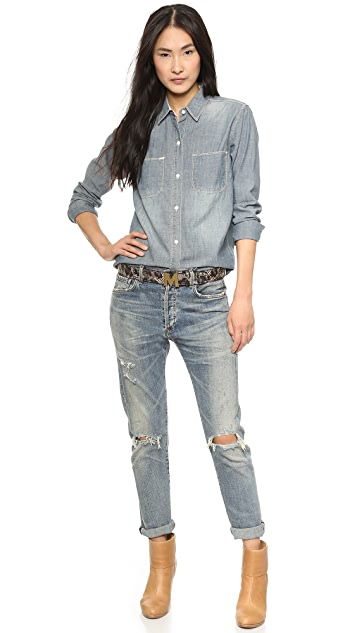 Madewell The New Wash Chambray Shirt