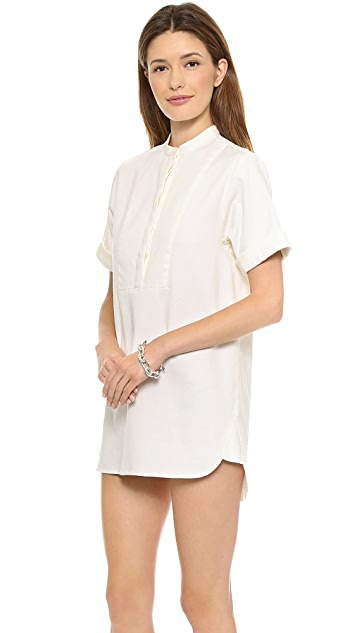 Madewell Heavy Structured Bib Tunic