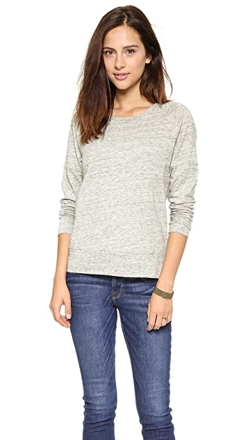 Madewell Nell Raglan Sweatshirt