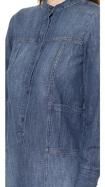 Madewell Chambray Shirtdress
