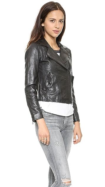 Madewell Perfect Leather Moto Jacket