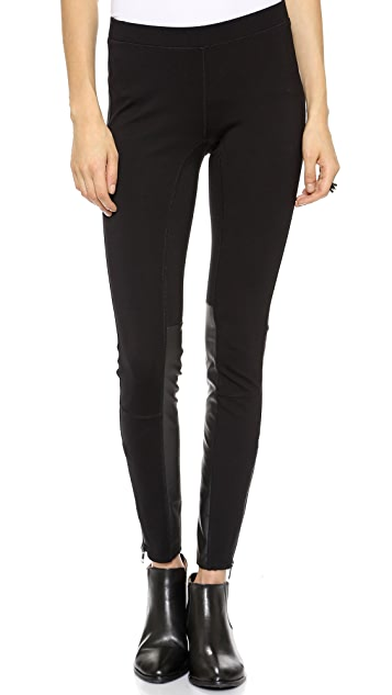 Madewell Pieced Ponte Pants