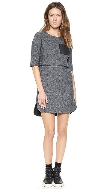 Madewell Dree Sweatshirt Dress