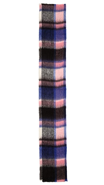Madewell Frosted Plaid Scarf