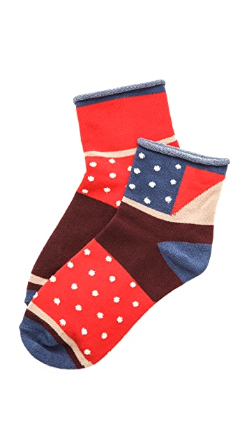 Madewell Mismatched Ankle Socks