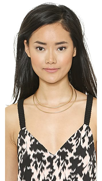 Madewell Double Tube Choker Necklace
