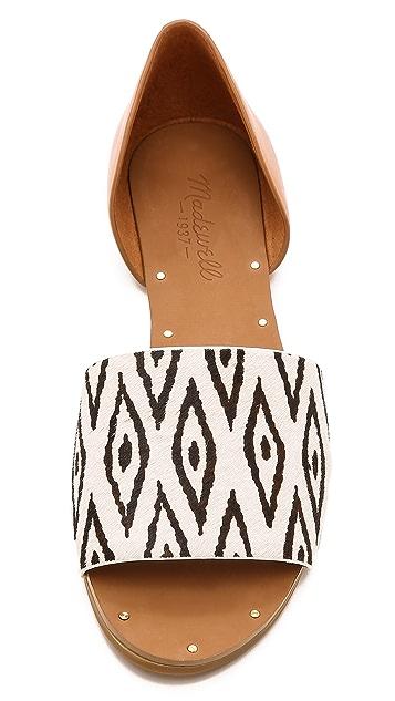 Madewell Thea Diamond Ikat Sandals