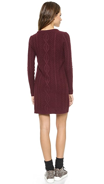 Madewell Elin Cable Sweater Dress