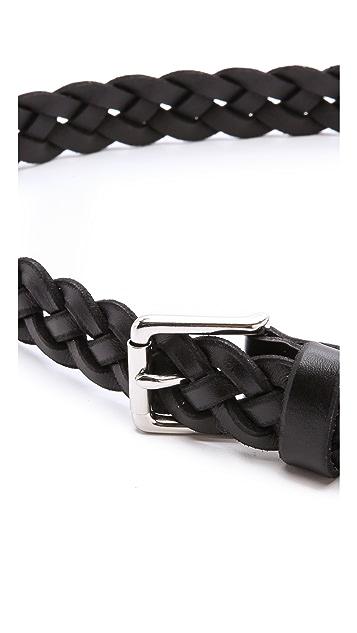 Madewell Mid Braided Belt