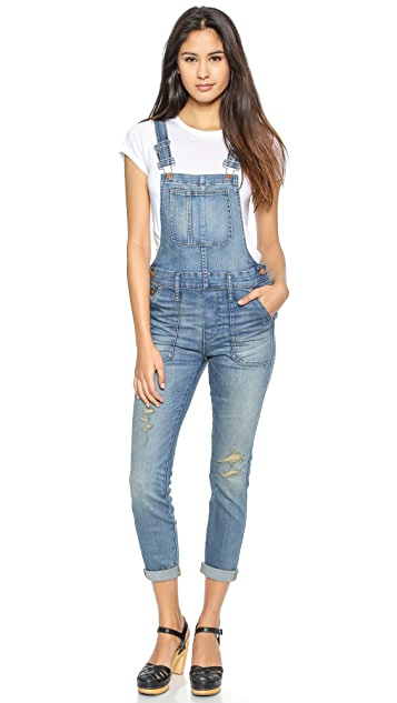 b8fef63449d Madewell Skinny Adrian Wash Overalls