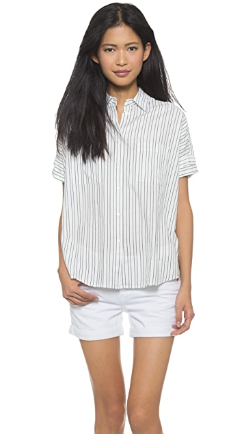 2a320f03 Madewell Courier Striped Shirt | SHOPBOP
