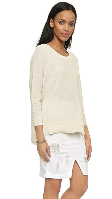 Madewell French Drape Sweater