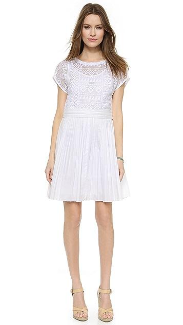 Madewell Geo Lace Dress