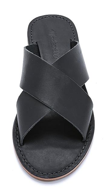 Madewell The Sightseer Slide Sandals