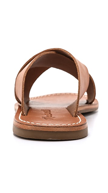 Madewell The Sightseer Slide Sandals