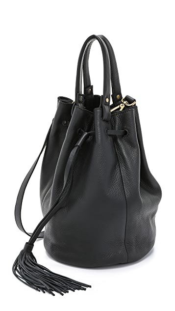 Madewell Tassel Bucket Bag